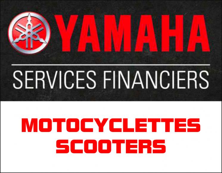 Taux spéciaux de financement – motocyclettes et scooters